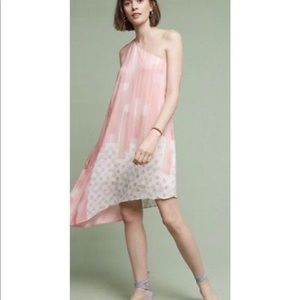 Anthropologie one-should dress